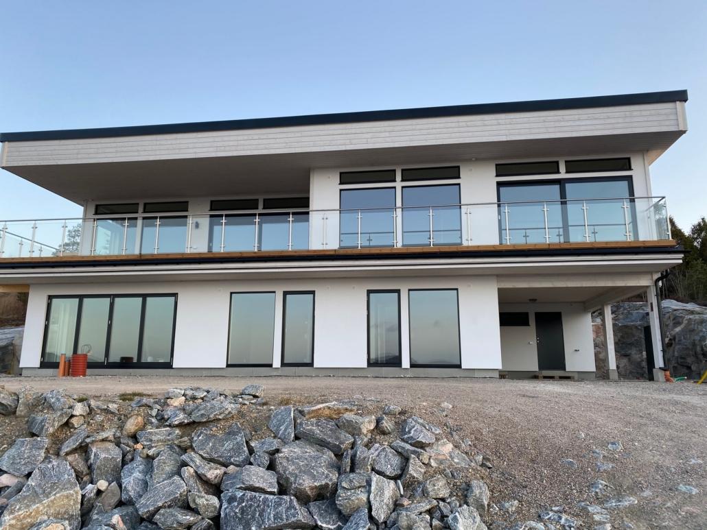 Nytt och modern hus av JND